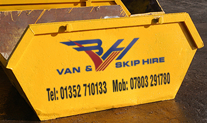 Fast, Reliable Skip Hire Company in Flintshire
